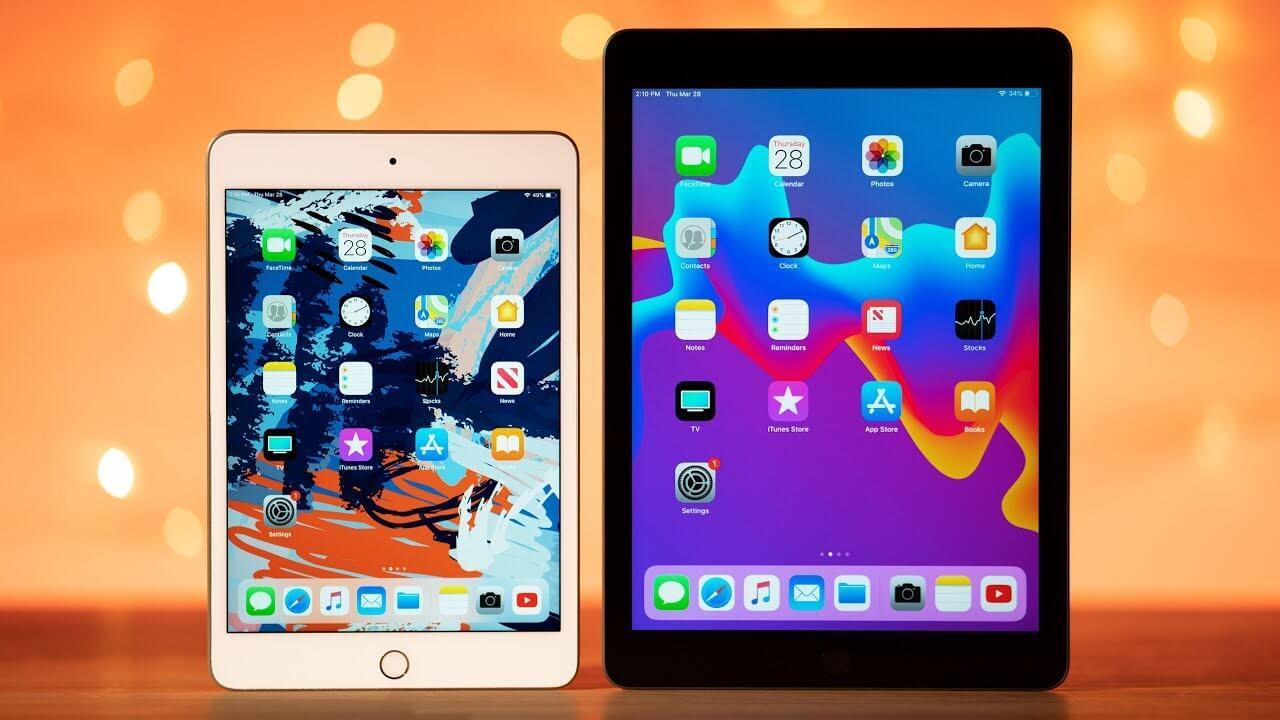iPad mini x iPad Air x iPad 2018