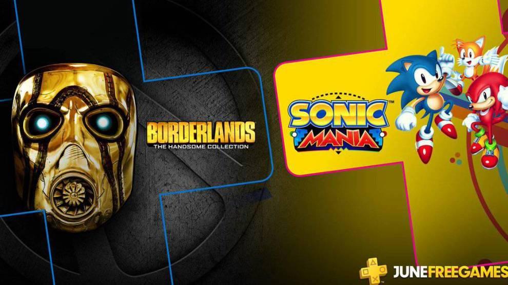 PS Plus de junho terá Borderlands e Sonic Mania 4