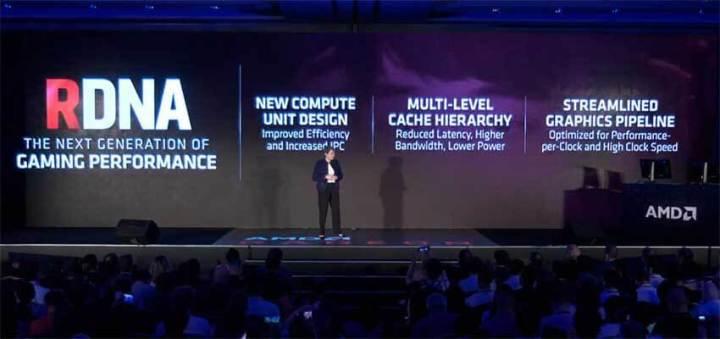 AMD apresentou a placa de vídeo RX5000 com Nova Microarquitetura RDNA
