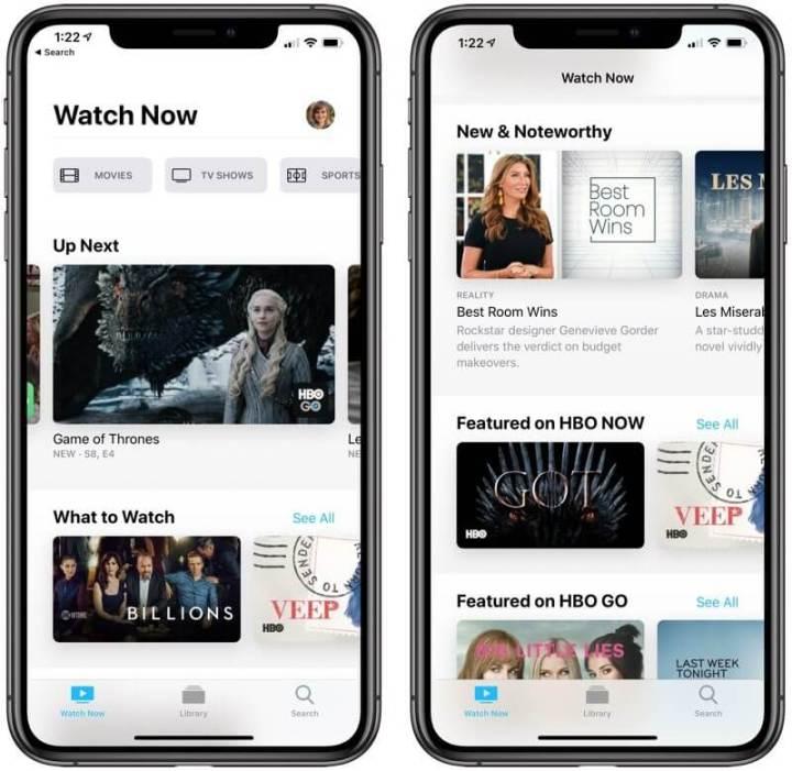 IOS 12.3 Apple TV
