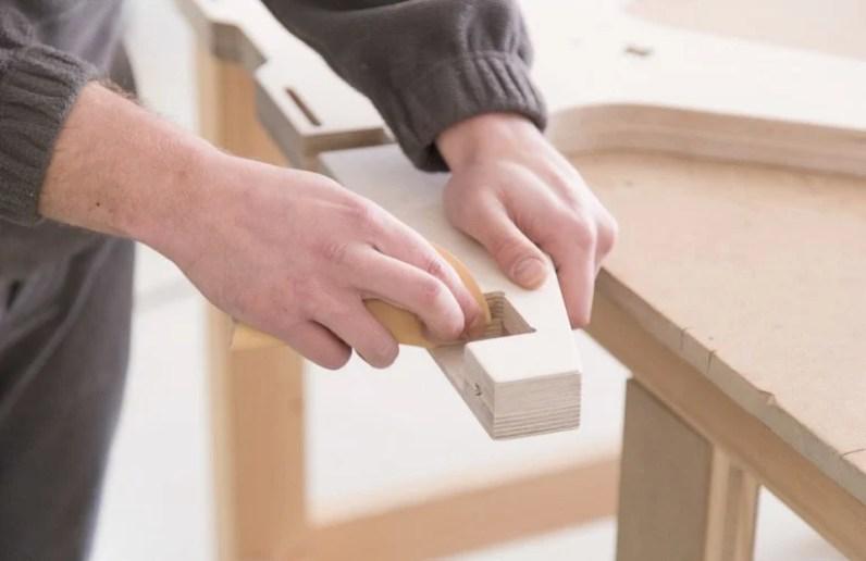A qualidade do material é essencial na fabricação de móveis open source
