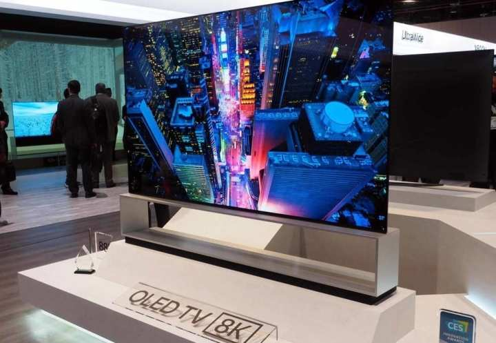 TV OLED 8K na CES 2019