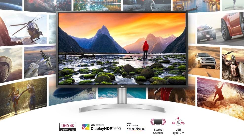 Novos Monitores LG focam em 4K, HDR e melhorias para Gamers 5