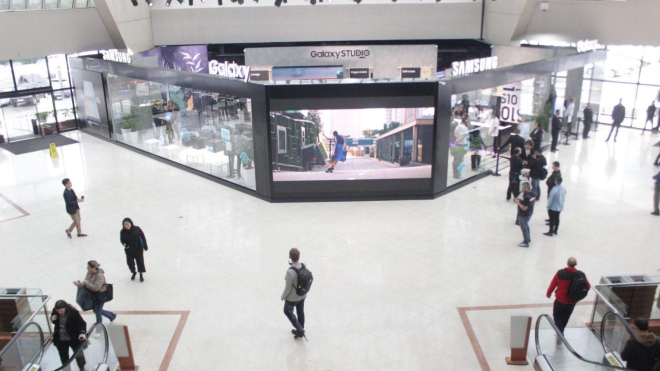 Galaxy Studio Brasil: Samsung inaugura espaço interativo em São Paulo 3