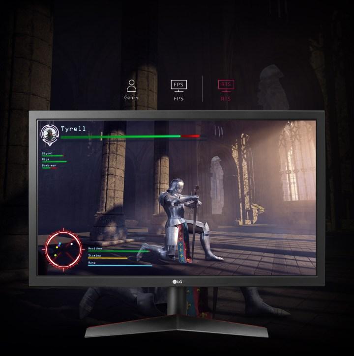 Monitores LG com foco Gamer