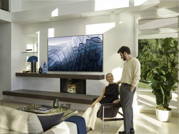 TV 8K Q900 da Samsung