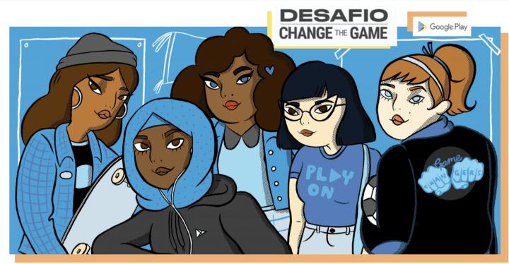 Change the Game vai premiar as melhores ideias de jogos que jovens mulheres, com idade entre 15 a 21 anos