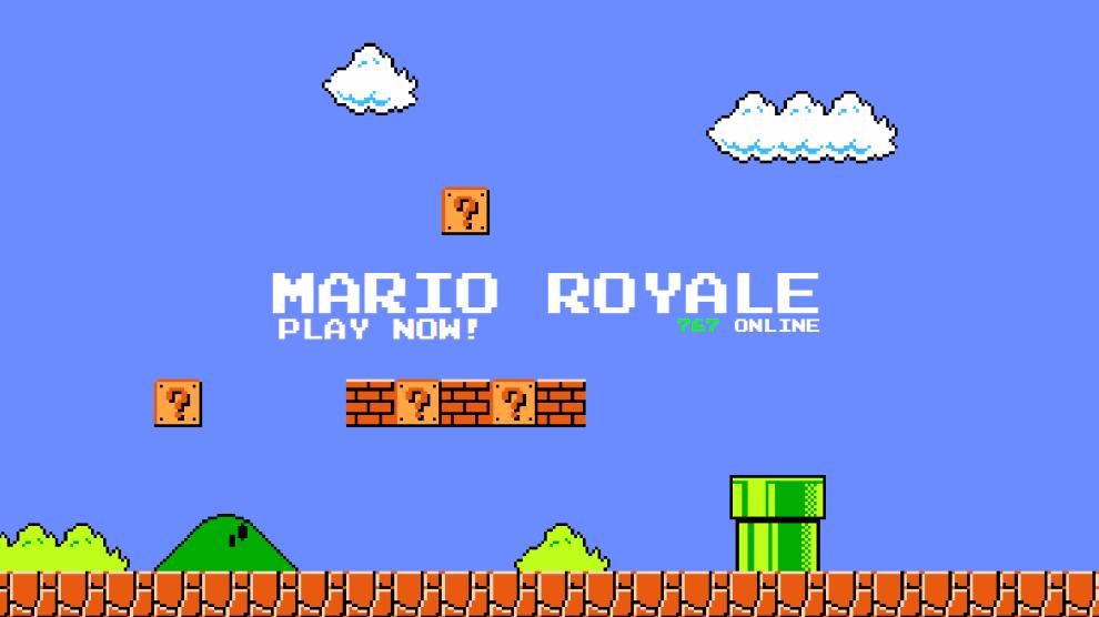 Super Mario Battle Royale