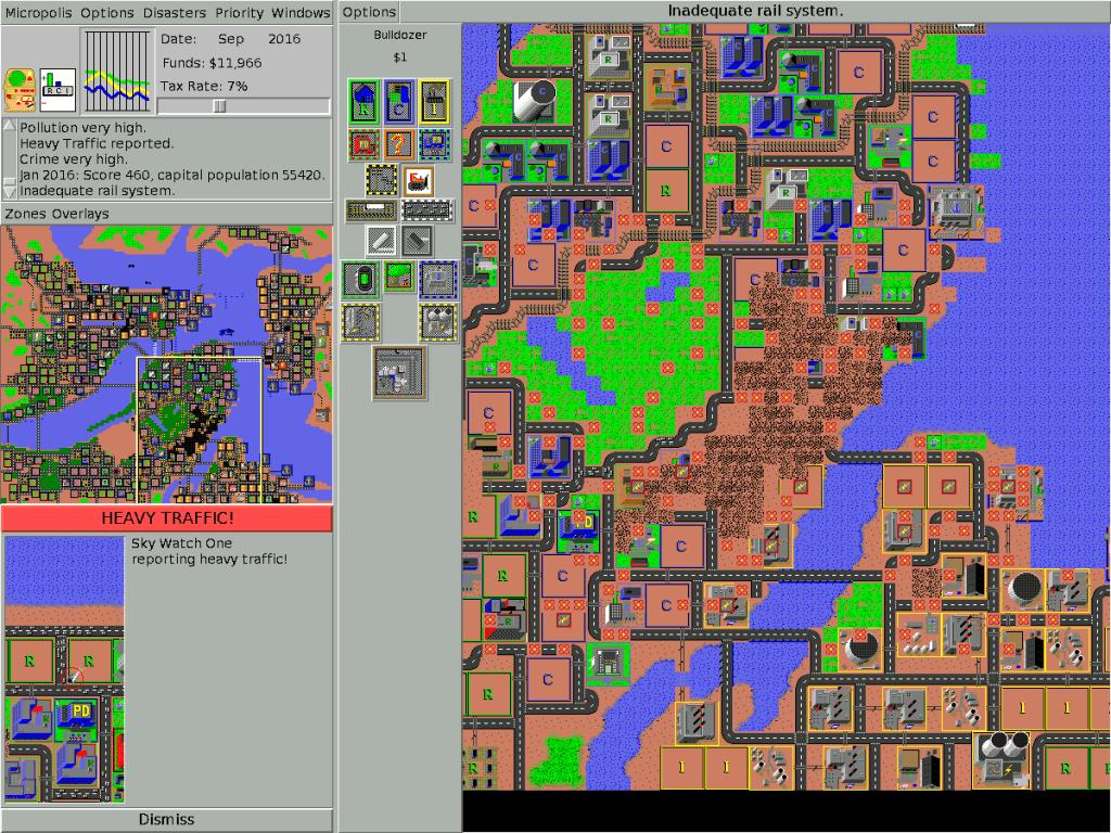 Sim City foi um dos mais populares simuladores de cidades do mundo dos games