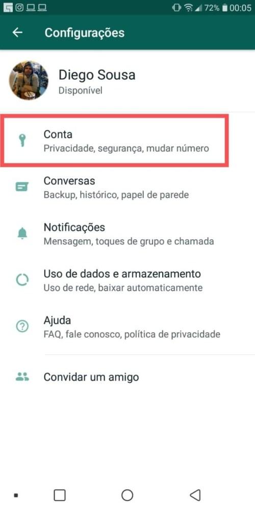 Verificação em 2 etapas do WhatsApp