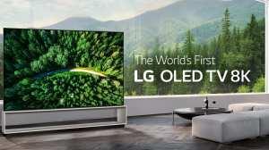 Banner da LG OLED 8K