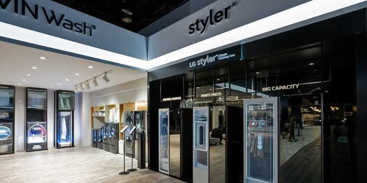 Stylers LG na CES 2019