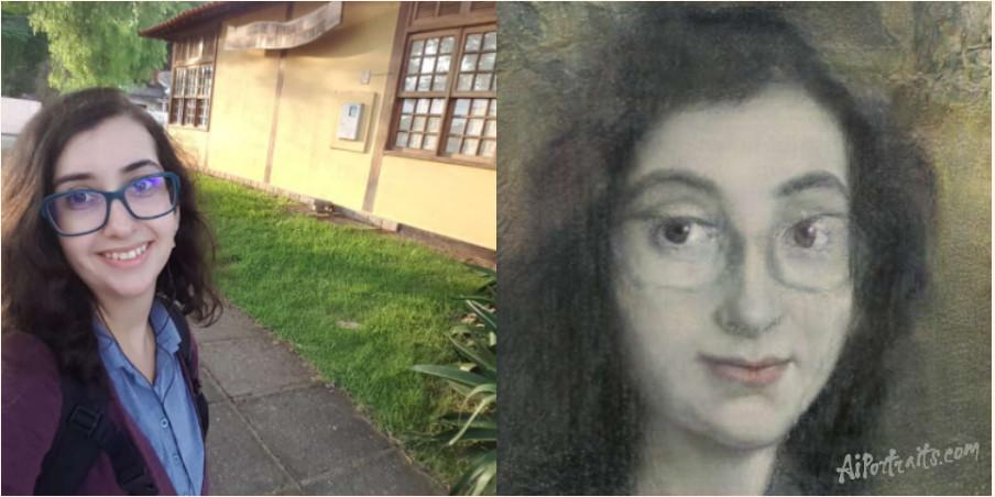 O resultado é automático ao transformar suas selfies em pinturas renascentistas