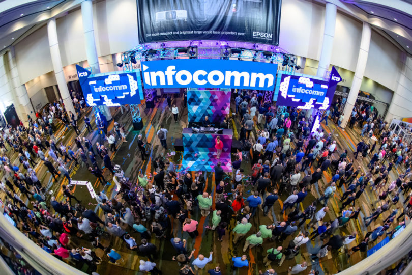 InfoComm reuniu diversas empresas, tanto multinacionais quanto stratups