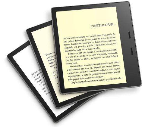 Nova tecnologia de tela do Kindle Oasis
