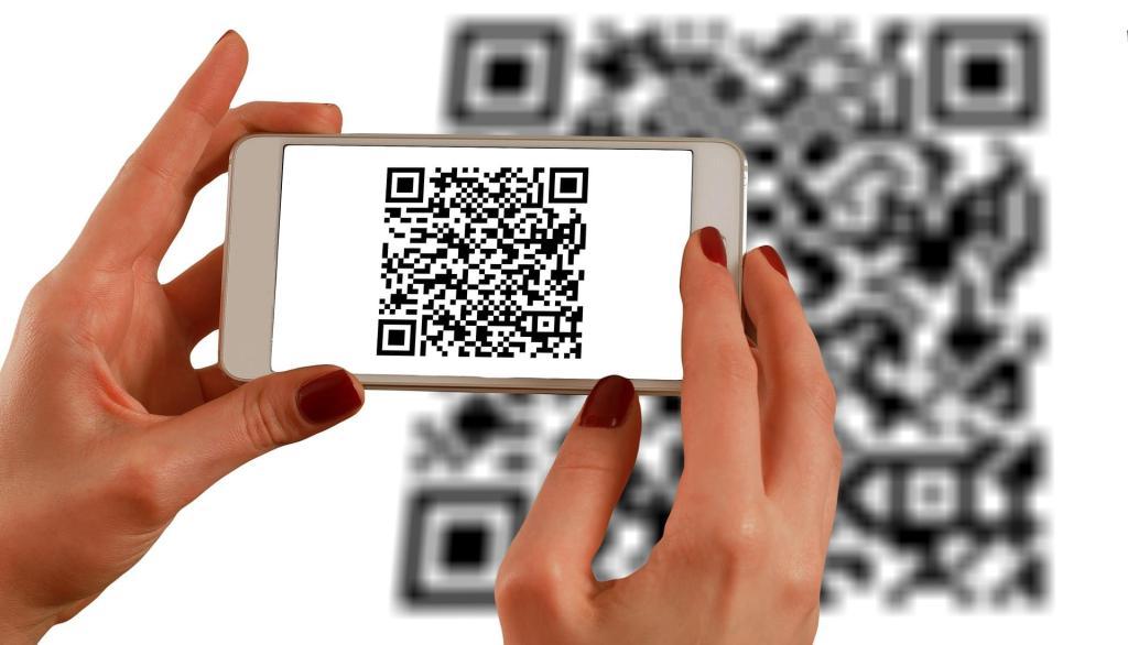 Os códigos são usados para direcionar o usuário ou comprovar a identificação