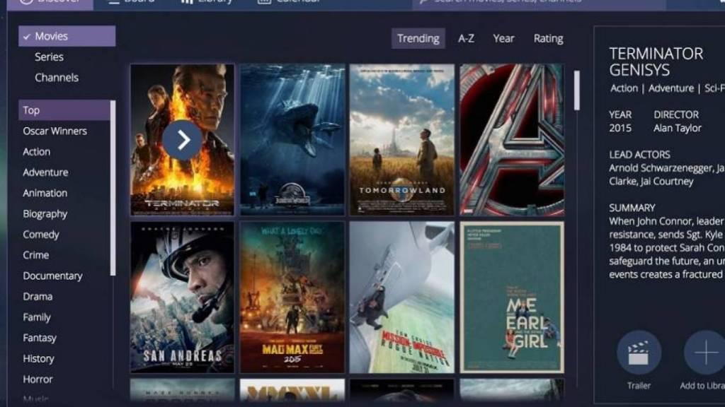 O Stremio é o sucessor espiritual do Popcorn Time, disponível em diversas plataformas