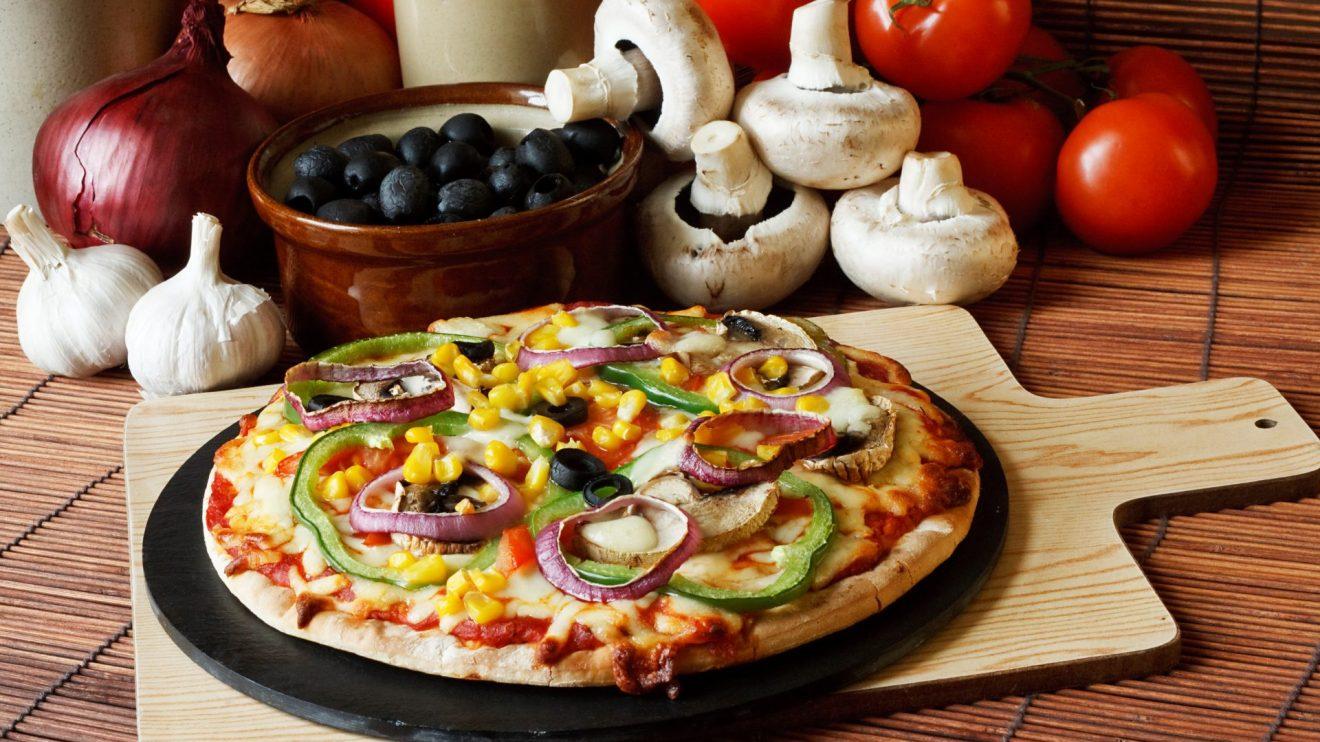 pizza vegetariana (Imagem: DepositPhotos)