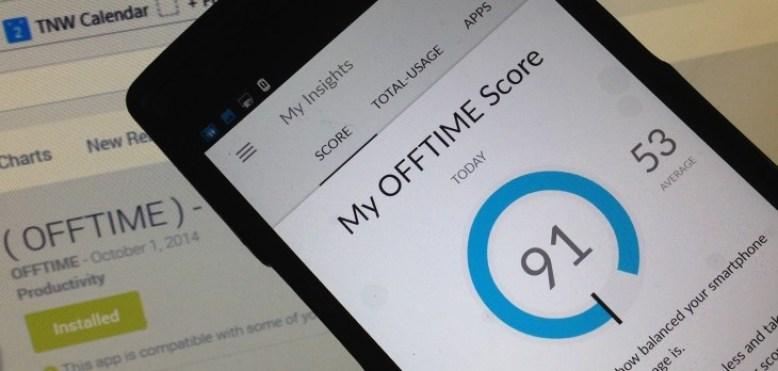 O Offtime vai além: permite bloquear aplicativos e ligações indesejadas