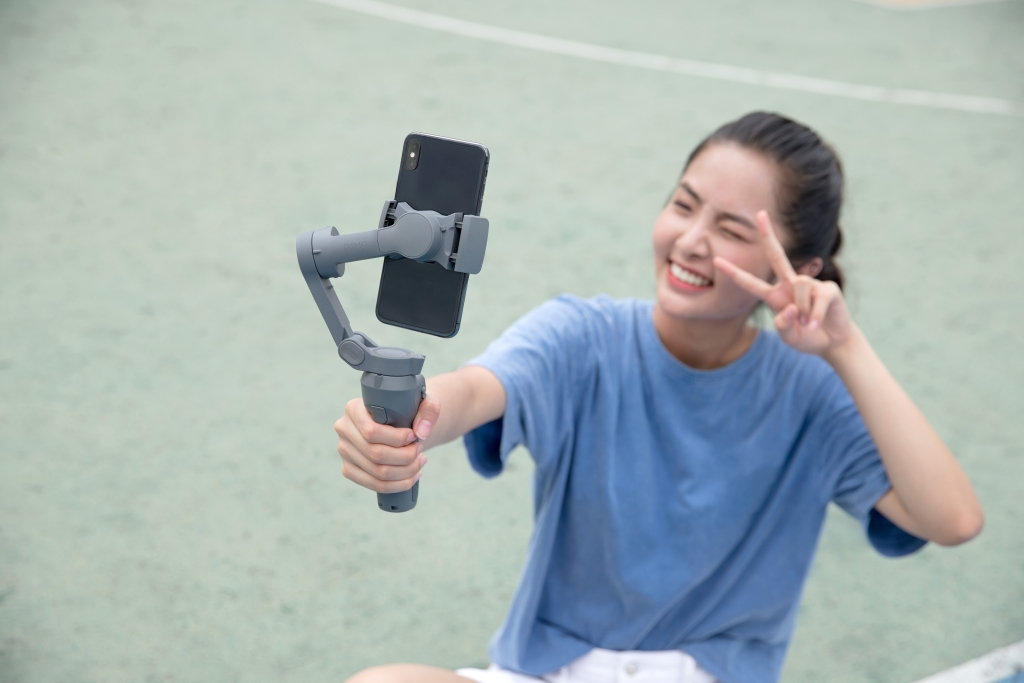 Gatinho para selfies
