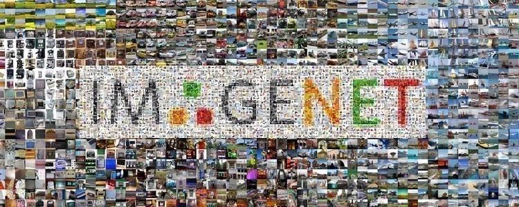 O Imagenet tem um banco de dados com milhões de imagens e classificações