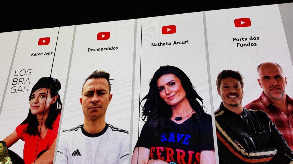 Novidades no Youtube Originals divulgadas no Youtube Brandcast.