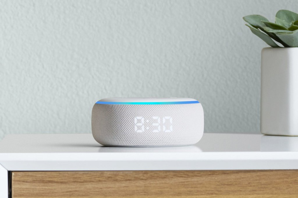 Amazon Hardware Event 2019 - Echo dot with clock