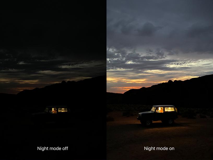 Night Mode (Modo Noturno, em português) está presente de forma nativa nos novos iPhone 11