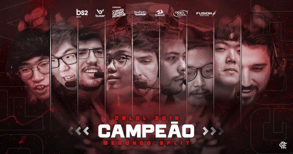 Equipe do Flamengo eSports