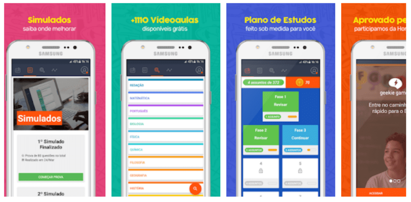 Geekie Games - apps de estudo para o ENEM