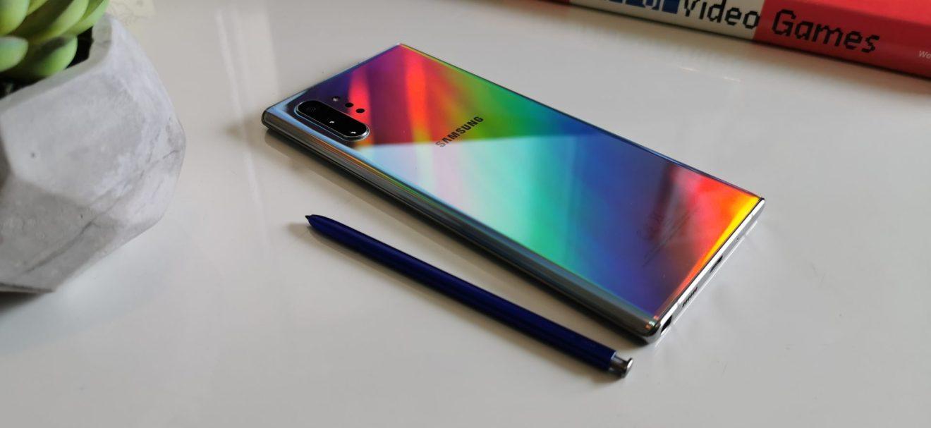 Novo Galaxy Note 10+ traz vidro Gorilla Glass 6 nos dois lados