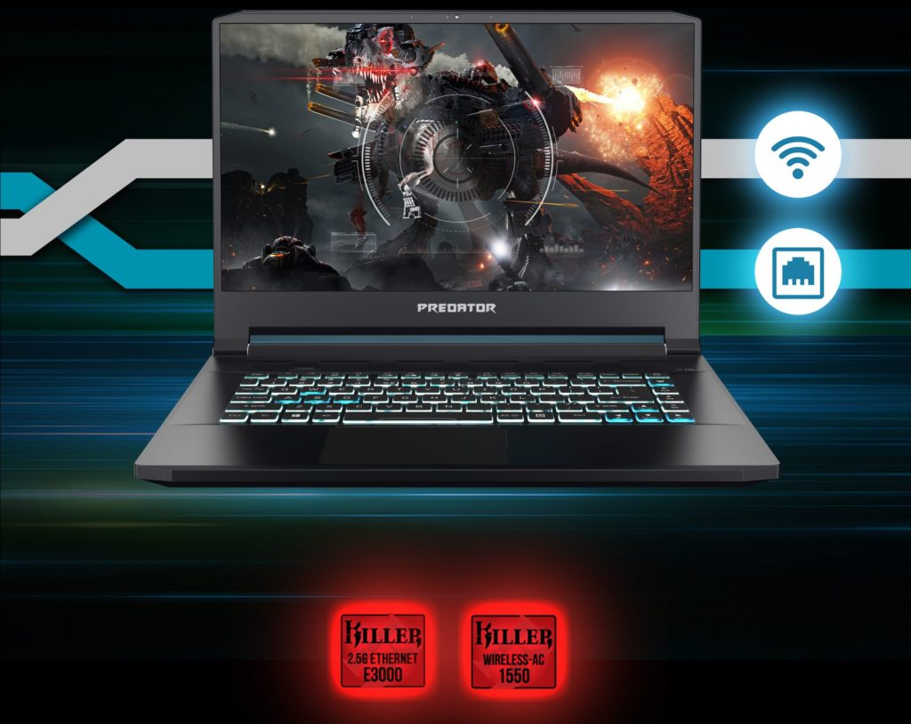 Acer introduced Predator Triton 300 gaming notebook and Predator Triton 500
