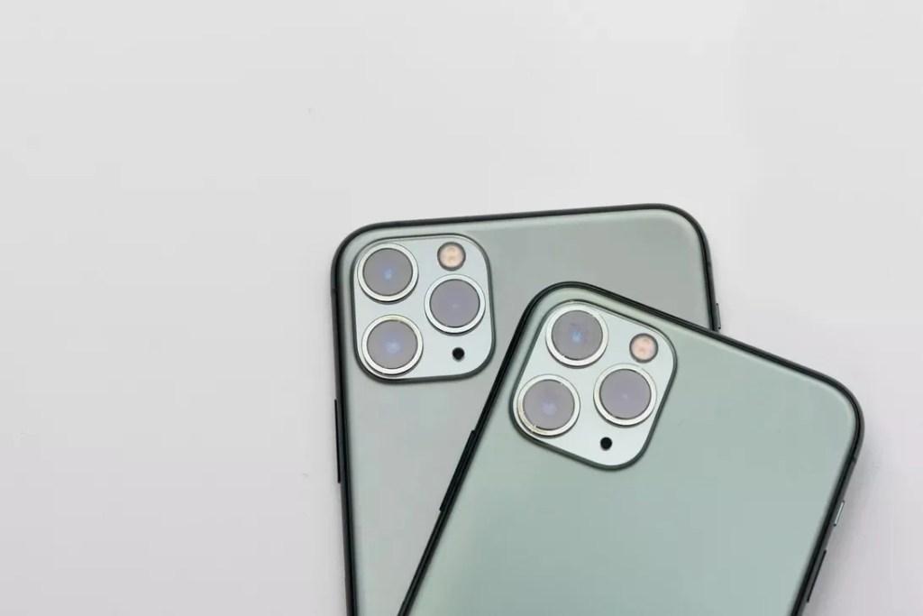 Câmeras traseiras dos modelos Pro e Pro Max