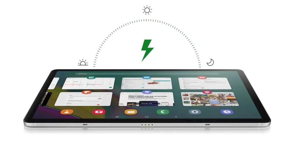 A bateria do Samsung Galaxy Tab S5e dura dias longe da tomada