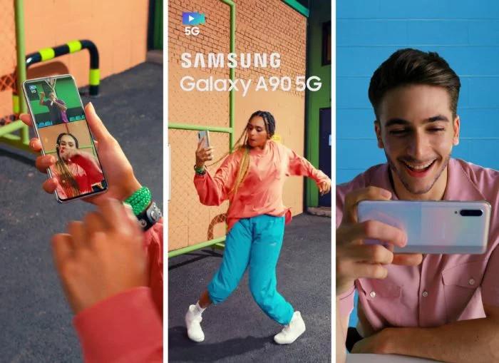 O Galaxy A90 estará equipado com o chipset Snapdragon 855