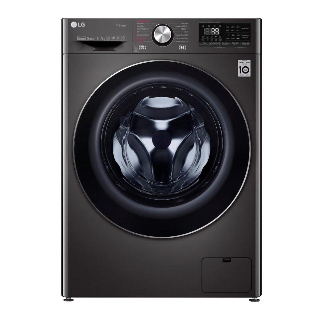 Nova Lava e Seca LG busca facilitar o processo de lavagem com Wi-Fi