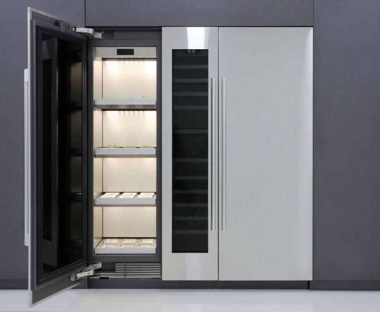 A ideia da LG é reproduzir todas as condições de uma horta em um eletrodoméstico dentro de casa.