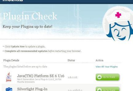 Firefox Plugin Check - Firefox lança verificação de atualizações para Plugins
