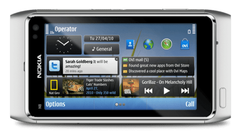 n8 2 500x285 - Vídeo: Nokia N8 Widgets preview