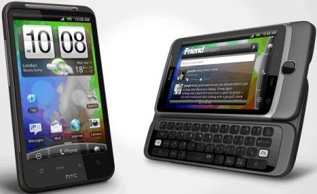 HTC Desire HD and HTC Desire Z1 500x307 - HTC lança Desire Z e Desire HD