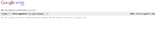 scribe 500x139 - Google Scribe