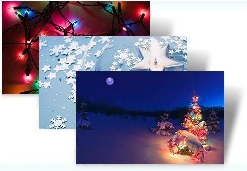 Natal windows 7 tema theme christmas - Temas: Natal para Windows 7