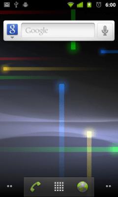 home plain 300x500 - Gingerbread UI: detalhes e imagens da nova interface do usuário
