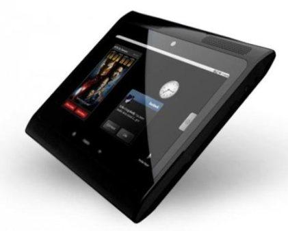 motorola android tablet - Motorola faz barulho com o seu futuro tablet