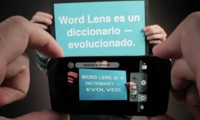 worldlens - Aplicativo para o iPhone traduz imagens da câmera em tempo real