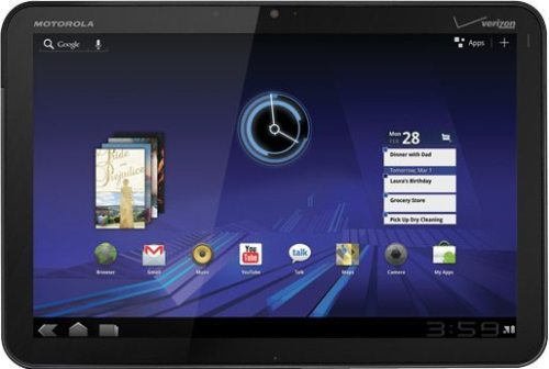 Motorola XOOM1 500x336 - CES 2011: Motorola apresenta o Xoom, seu tablet dual-core