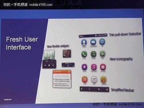 247685452 - Nokia N8: Nova interface Symbian terá barra de notificações e widgets otimizados