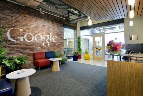 "Google Pittsburgh 1 500x337 - Design: Google apresenta seu escritório ""Not-Evil"" em Pittsburgh"