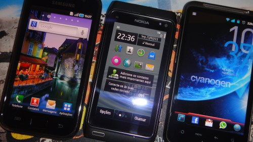 Samsung Galaxy S Nokia N8 HTC Desire HD vs x 500x281 - Review à vista!