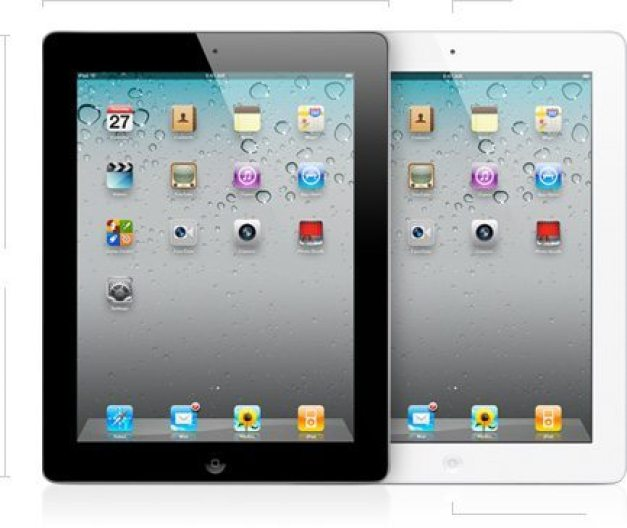 new Ipad 2 black white